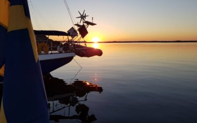Solnedgång på vackra Öja/Landsort.
