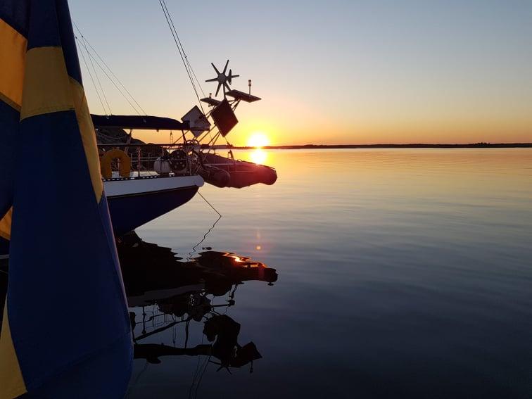 Solnedgång på vackra Öja/Landsort